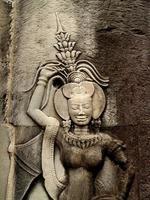 ruïnes in Angkor Wat, Siem Reap, Cambodja foto
