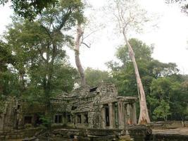 ruïnes in Angkor Wat in Siem Reap, Cambodja foto