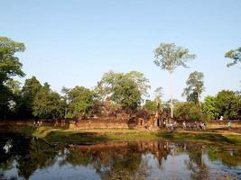 angkor wat angkor thom siem oogst cambodja foto