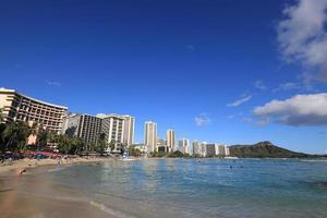 Waikiki Beach, Hawaï foto