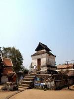 wat phra that lampang luang tempel in lampang provincie, thailand foto