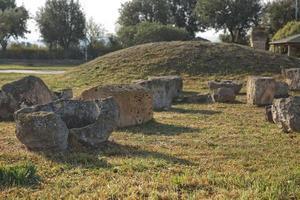 de Etruskische necropolis van Monterozzi foto