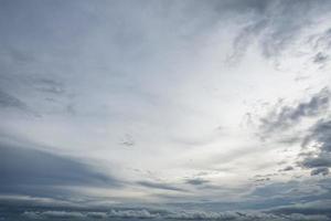 hemel wolk blauw foto