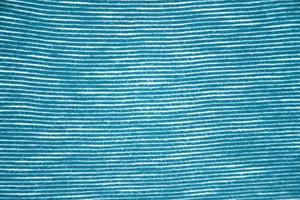 close-up van gestreepte stof textuur foto