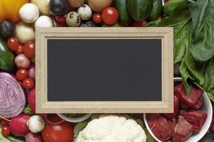 de flexitarische dieetvoedselregeling foto