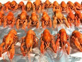 krabben in winkel te koop foto