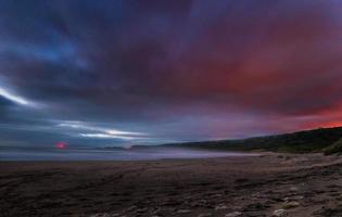 strand in Noord-Ierland foto