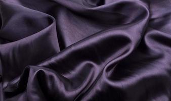 zwart satijn close-up foto