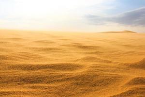 golf op woestijn mui ne woestijn zuid vietnam foto