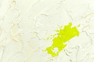 verf penseelstreek textuur achtergrond van groene aquarel foto