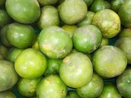 groep mandarijn groene kleuren foto