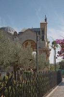 kerk van alle naties in de tuin Gethsemane op de Olijfberg, Jeruzalem, Israël foto