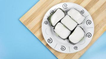 populaire maleisische zoete woestijn tepung pelita foto