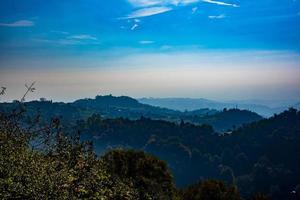 blauwe heuvels nul foto