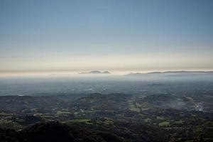 de euganeïsche heuvels in de verte foto