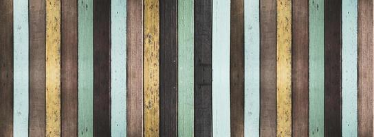 oude geschilderde houten achtergrond en textuur foto