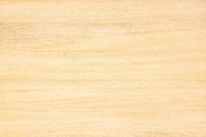 bovenaanzicht van licht houten tafel met natuurlijk patroon en kleur effen hout abstracte achtergrond foto