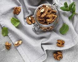 walnoten zonder schil foto