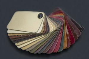 fancatalogus met gekleurde leerstalen foto
