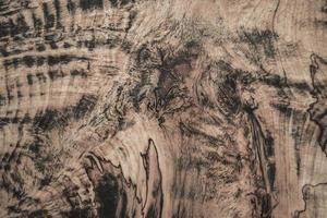 textuur van krullend houtbehang foto
