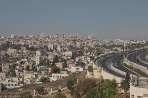 stad Jeruzalem in Israël foto