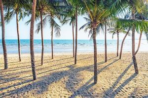 prachtig strand in thailand foto