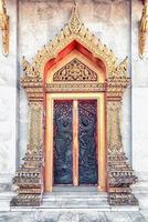 marmeren tempel in bangkok foto