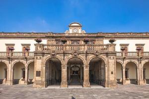 nationaal museum van geschiedenis chapultepec kasteel in mexico-stad foto