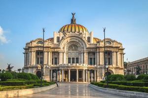 palacio de bellas artes paleis voor schone kunsten in mexico-stad foto