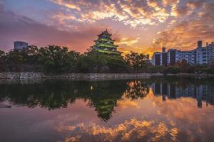 Hiroshima Castle aka karperkasteel in Hiroshima in Japan foto