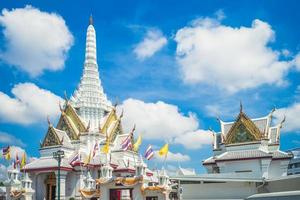 lak mueang stad pijler heiligdom in bangkok, thailand foto