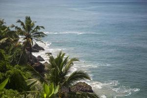 Varkala-strand in India foto