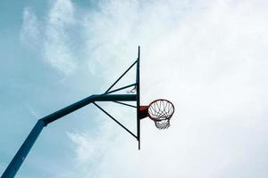 straat basketbal hoepel sportuitrusting foto