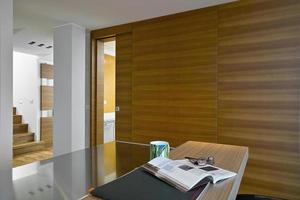 interieur shot van een moderne keuken foto