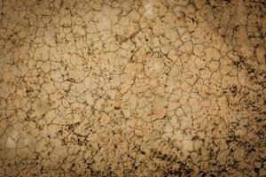 bruin gebarsten cement vloer textuur achtergrond tekst invoeren foto