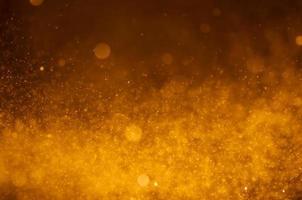oranje bokeh achtergrond foto