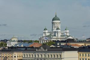 kathedraal van het bisdom helsinki in helsinki, finland foto