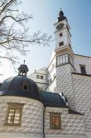 kasteel pardubice museum in pardubice, tsjechië foto