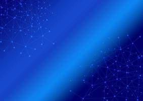 abstracte verbinding blauwe kleur achtergrond foto