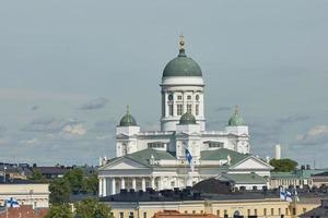 kathedraal van het bisdom in helsinki, finland foto