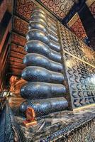 wat pho tempel in bangkok thailand foto