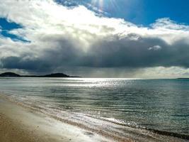 kustlijn van Mission Bay, Auckland, Nieuw-Zeeland foto