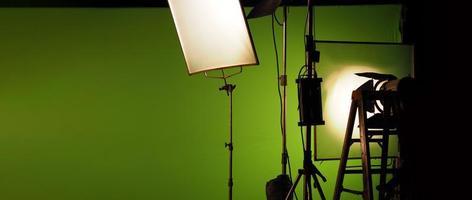 studiolichtapparatuur voor foto- of filmfilmvideo. foto