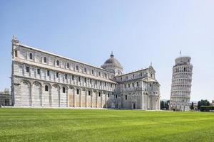 scheve toren van pisa, italië foto