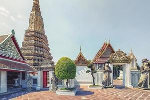 wat pho-tempel in bangkok, thailand foto