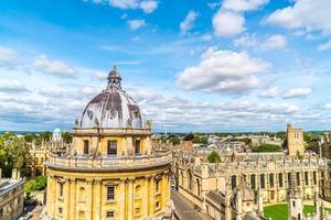 Radcliffe Camera en All Souls College aan de Universiteit van Oxford. Oxford, Verenigd Koninkrijk foto