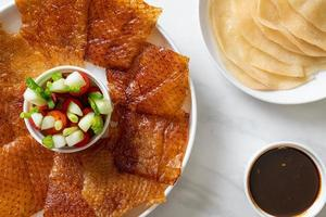 pekingeend - chinees eten foto