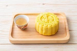 chinese moon cake vla smaak foto