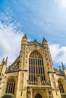 de abdijkerk van heilige peter en heilige paul, bad, algemeen bekend als badabdij, Somerset Engeland foto