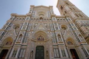 kathedraal van heilige maria van de bloem in florence, italië foto